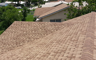 new roof installation