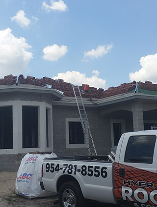 Davie Tile Roof Custom Home Addition